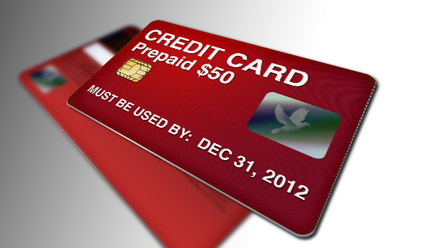 how to use a prepaid credit card at a store