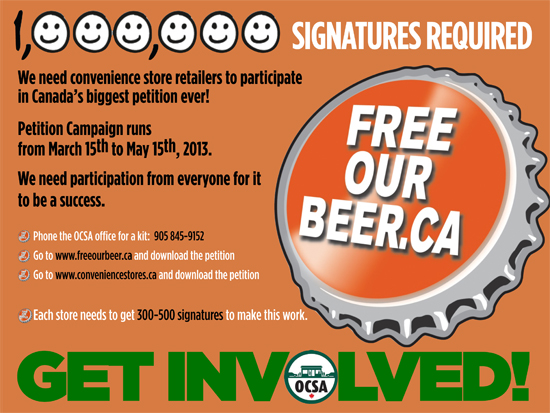 2013 Free Our Beer Promotion