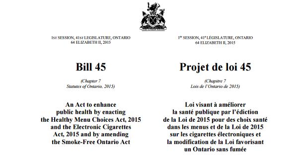 ontario bill 45