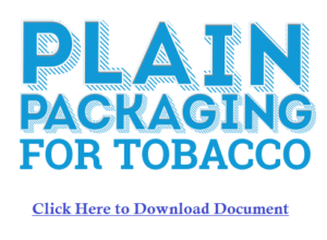 Plain packaging laws in Canada