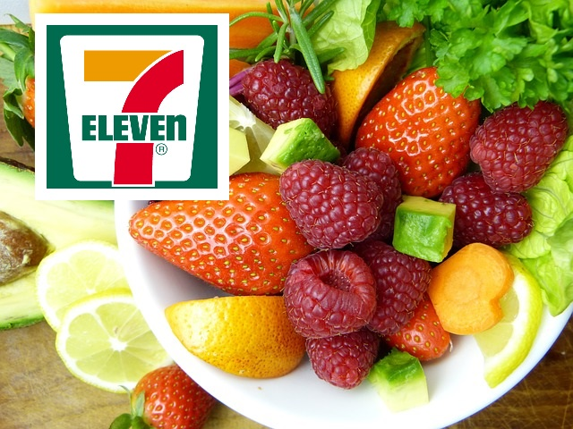 7-Eleven healthy food options