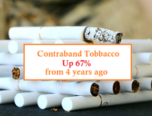 Contraband tobacco study, 2017
