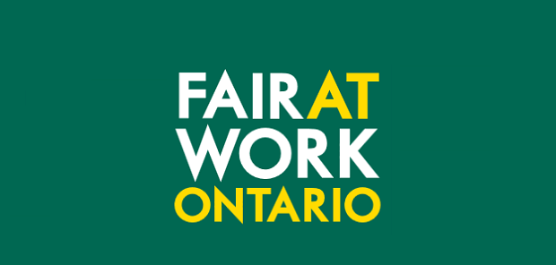 Ontario labour laws graphic