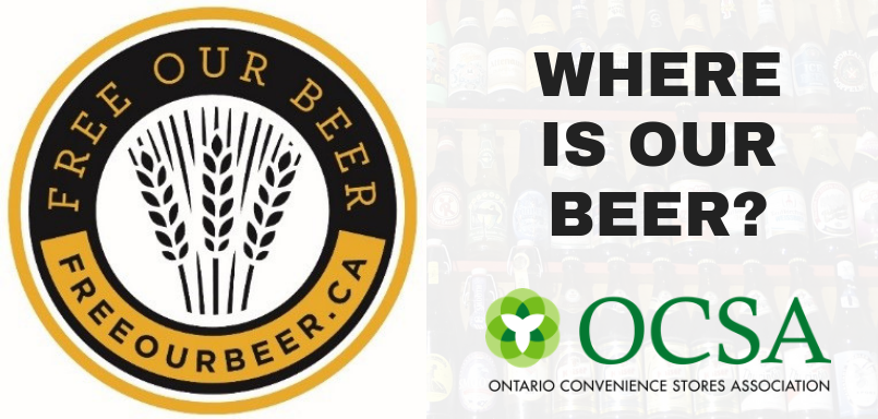 Free Our Beer Campaign