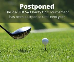 ocsa charity golf tournament 2020 postponed