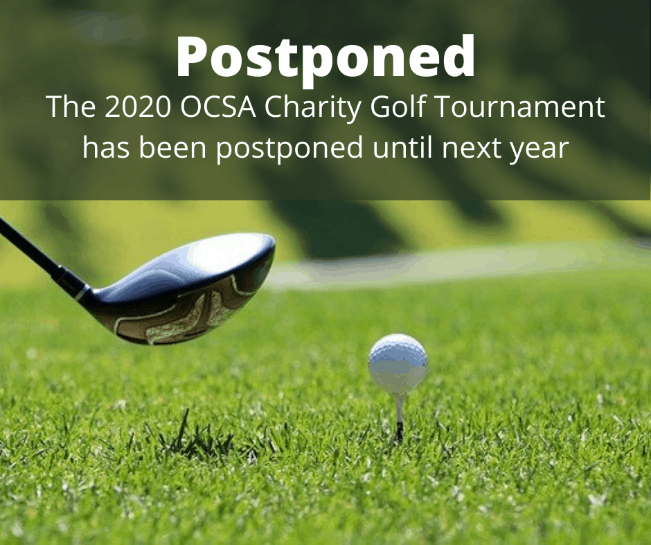 ocsa charity golf tournament 2020 postponed