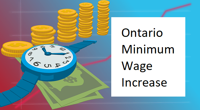 Ontario Minimum Wage Increase