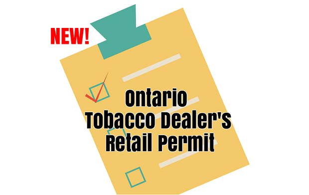 Ontario tobacco permit graphic
