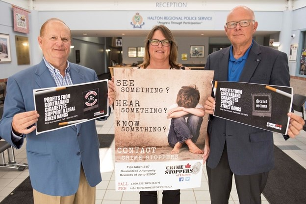 OCSA talks contraband with Crime Stoppers