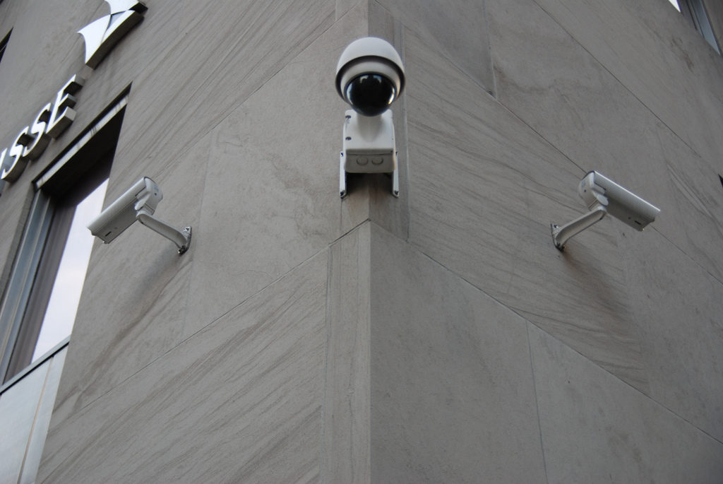 Surveillance outside of a Building