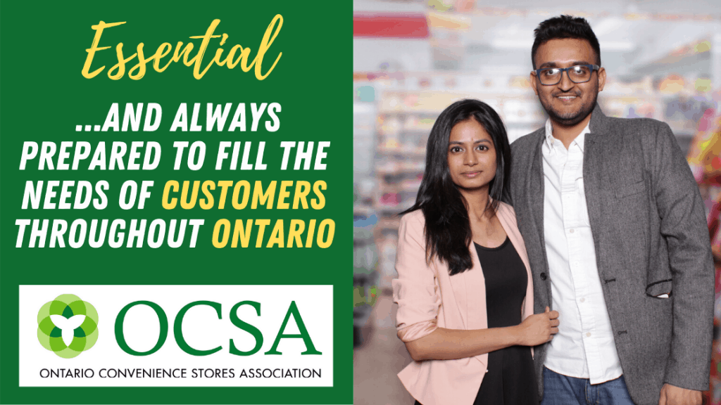 ONtario convenience stores open during Covid19
