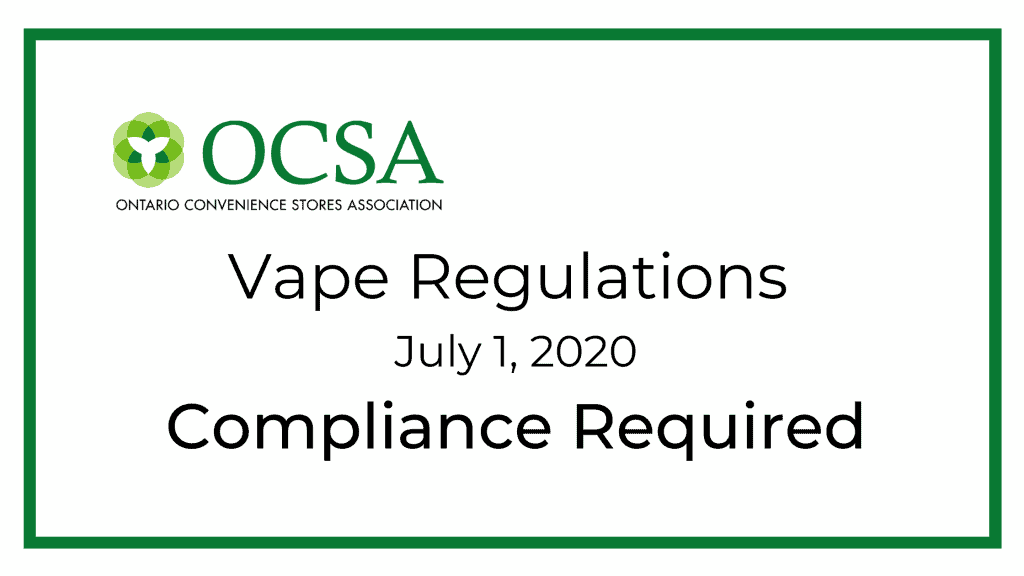 Dear Industry Stakeholders, The Ministry of Health ('ministry') has recently been made aware of communications circulating among retailers from industry representatives about the implementation and enforcement of the Smoke-Free Ontario Act, 2017 (SFOA, 2017) regulatory amendments that came into effect on July 1, 2020. The ministry takes this opportunity to provide clarity to ensure that the industry representatives and retailers are aware of the expectations for compliance with the regulatory amendments. As previously communicated, the ministry is aware of the impact that COVID-19 is having on the normal operation of businesses. However, despite these circumstances, the Ontario government is not delaying the implementation of the regulatory amendments to the SFOA, 2017 that came into force on July 1, 2020. This means that, as of July 1, 2020, businesses are expected to comply with the regulatory amendments and Public Health Unit SFOA inspectors will be responsible for assessing compliance. As with any requirement under the SFOA, 2017, SFOA inspectors will employ a progressive enforcement approach to achieve compliance with the new regulatory amendments through a balance of education, inspection and the use of warnings and graduated charging options to reflect the frequency and severity of non-compliance. The ministry acknowledges that the timeline for achieving compliance may be impacted by the reduced or limited operational capacity of retailers during this time. Therefore, the ministry has asked SFOA inspectors to first prioritize education and awareness of the new requirements to support compliance among businesses. The ministry is encouraging SFOA inspectors to work collaboratively with non-specialty retailers to ensure prohibited vapour products are removed from stores, which may include returning flavoured vapour products and high nicotine-containing vapour products to suppliers (e.g., manufacturers and wholesalers) in order to comply with the new SFOA, 2017 regulatory requirements. SFOA inspectors are provincial offences officers under the Provincial Offences Act and exercise independence in their approach to enforcing the SFOA, 2017. This means that SFOA inspectors maintain their discretion to lay charges for non-compliance with the new regulatory requirements where circumstances warrant. The ministry hopes this information has been helpful and provides clarity with respect to enforcement of the new regulatory amendments. The ministry requests that you clarify the expectations around compliance with your respective retail partners as soon as possible. Dianne Dianne Alexander Director, Health Promotion and Prevention Policy and Programs Branch Office of the Chief Medical Officer of Health, Public Health Ministry of Health